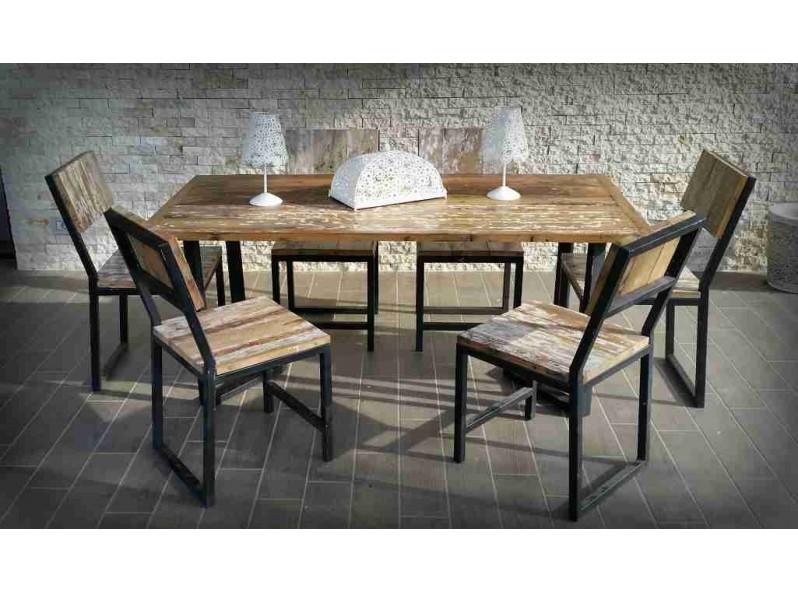 tavolo giardino vintage
