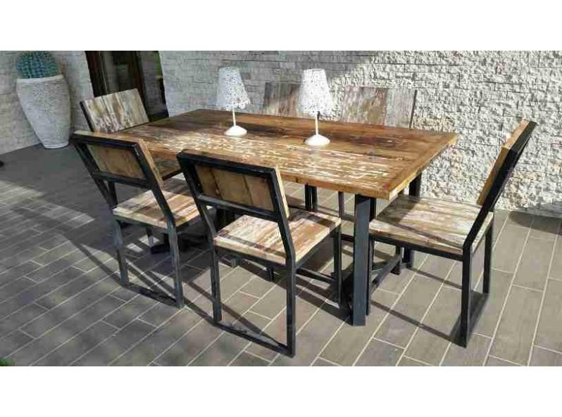 tavolo per giardino e terrazzo