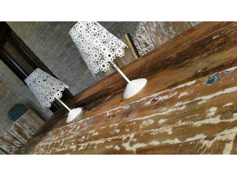 set pranzo da giardino in legno di barca julienne