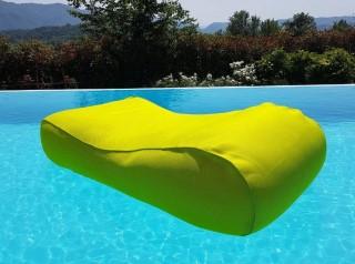 Lettino in tessuto galleggiante per piscina