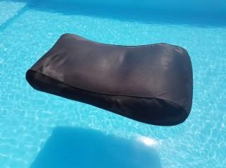 Lettino da piscina galleggiante in tessuto