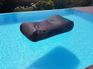 Lettino galleggiante grigio Uniko
