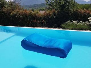Lettino galleggiante per piscina in tessuto
