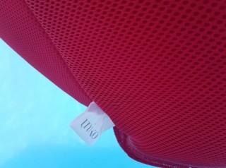 Poltrona galleggiante in tessuto da esterno Aqua red