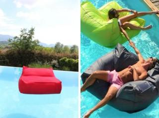 Poltrona galleggiante per piscina in tessuto morbido per esterno