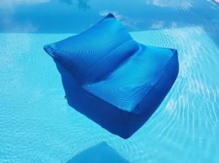 Poltrona galleggiante Aqua Turchese