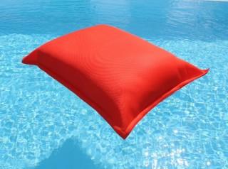 cuscino galleggiante arancio in tessuto