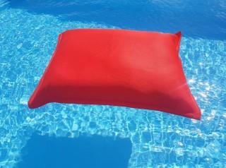 maxi cuscino galleggiante in tessuto