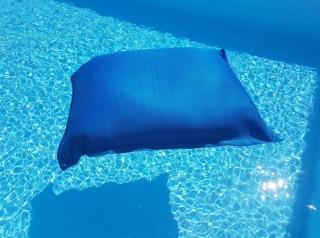 maxi cuscino galleggiante per piscina in tessuto