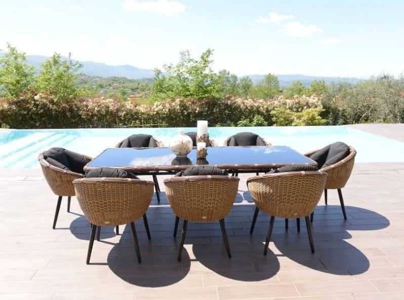Tavolo per esterno di design Kodia