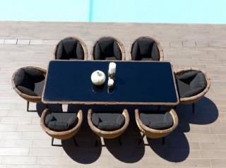 Tavolo da giardino di design Kodia