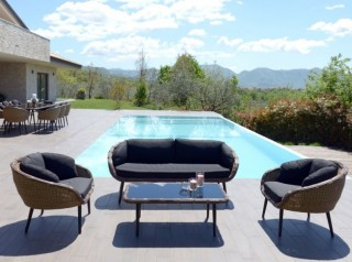 Divano outdoor di design Kodia