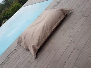 Cuscino maxi in tessuto per esterno