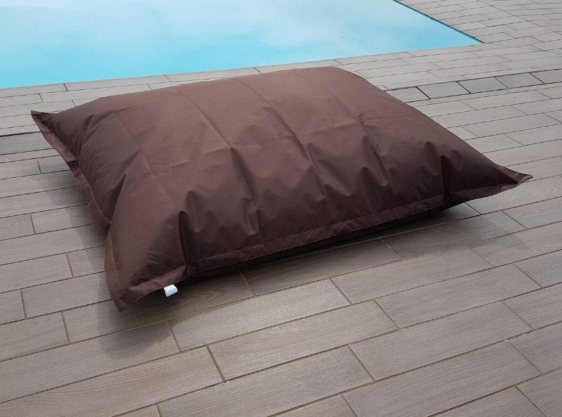 Cuscino gigante per esterno Flot Brown