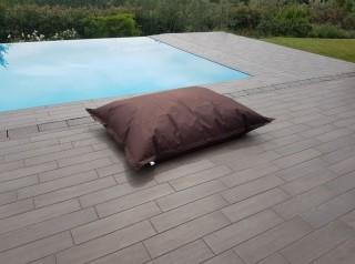 Cuscino gigante da esterno in tessuto