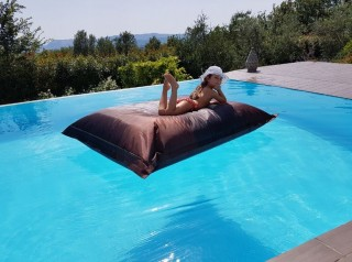 Cuscino gigante Flot BRown