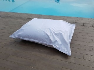 Cuscino gigante per esterno bianco