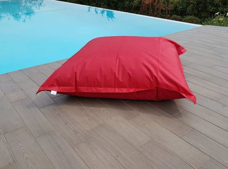 Cuscino gigante 180x140 rosso