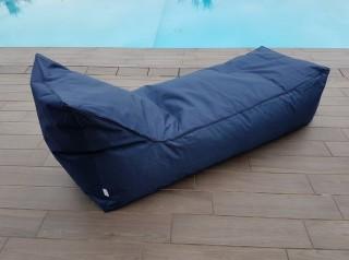 Lettino a cuscino da esterno