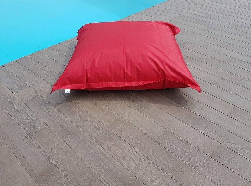 Cuscino gigante per esterno Rosso