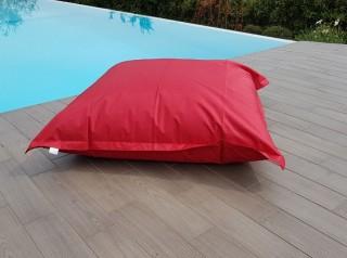 Maxi cuscino per esterno rosso