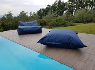 Cuscino gigante a poltrona per esterno