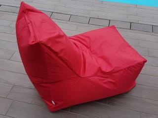 Poltrona cuscino da esterno in tessuto