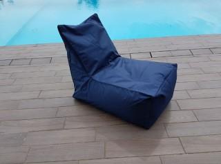 Cuscino poltrona da esterno Blu