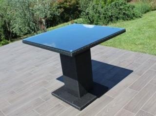 Tavolo quadrato per esterno bar