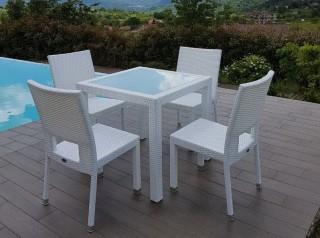 Tavolo da esterno Java White