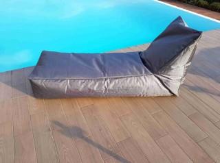 Maxi cuscino a lettino da esterno