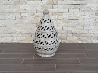Terracotta intagliata a mano
