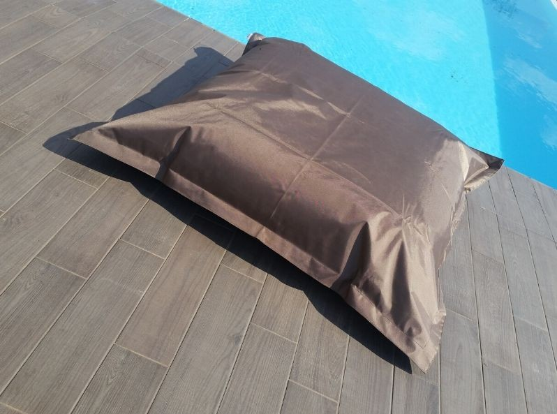 Cuscino gigante per esterno Tortora