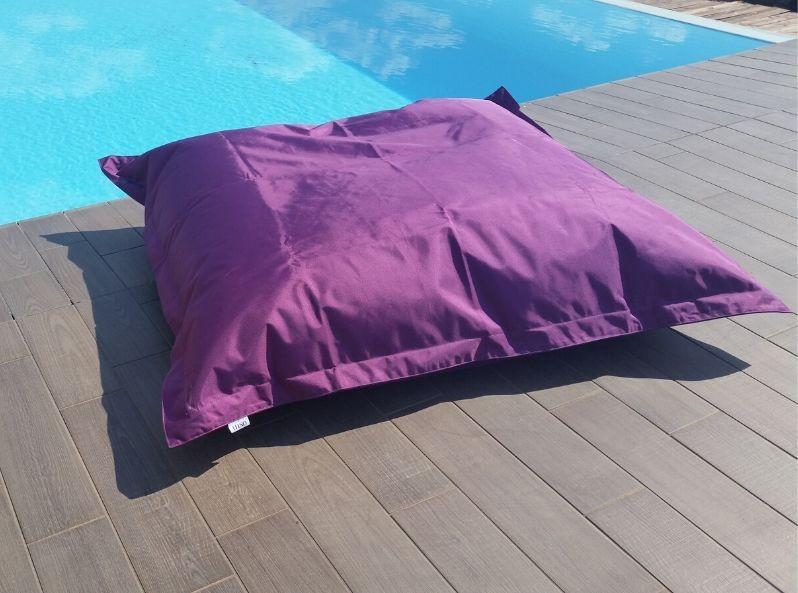 Cuscino maxi da esterno Viola