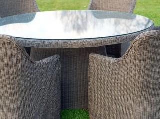 Tavolo tondo da esterno diametro 165