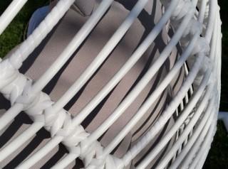 Cuscino in tessuto tecnico per esterno