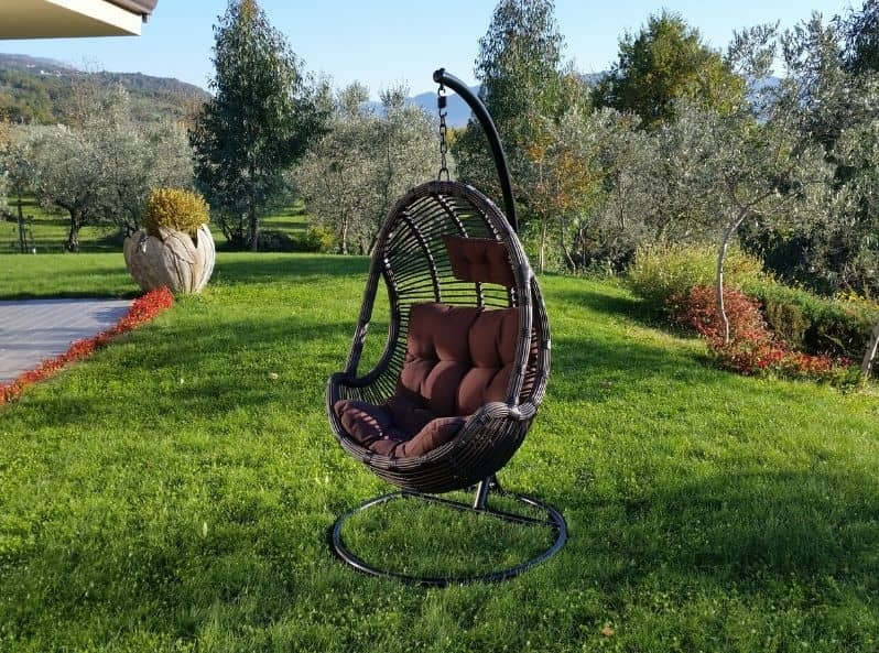 Seduta sospesa da giardino di qualità