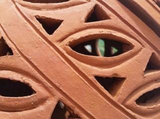 Terracotta lavorata a mano