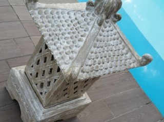 Lanterna in terracotta stile asiatico