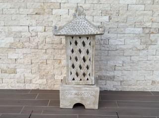 Lanterna in terracotta per esterno