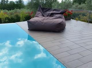 Cuscino gigante poltrona da esterno