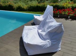 Cuscino gigante a poltrona da esterno