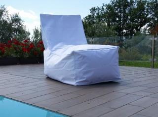 Poltrona in tessuto per esterno