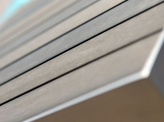 Tavolo in polywood grigio