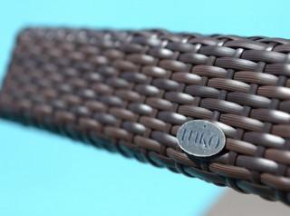 Intreccio in fibra sintetica piatta