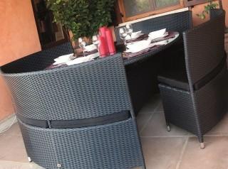 Tavolo rotondo per esterno
