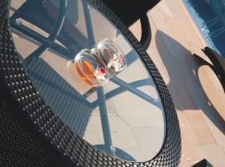 Tavolo da esterno tondo Antigua