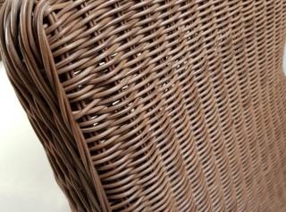 Poltrona da giardino in fibra sintetica