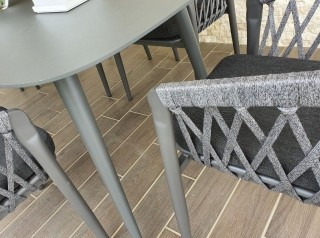 Tavolo da pranzo moderno per esterno