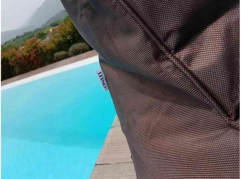 Sdraio a sacco per esterno in tessuto di alta qualità